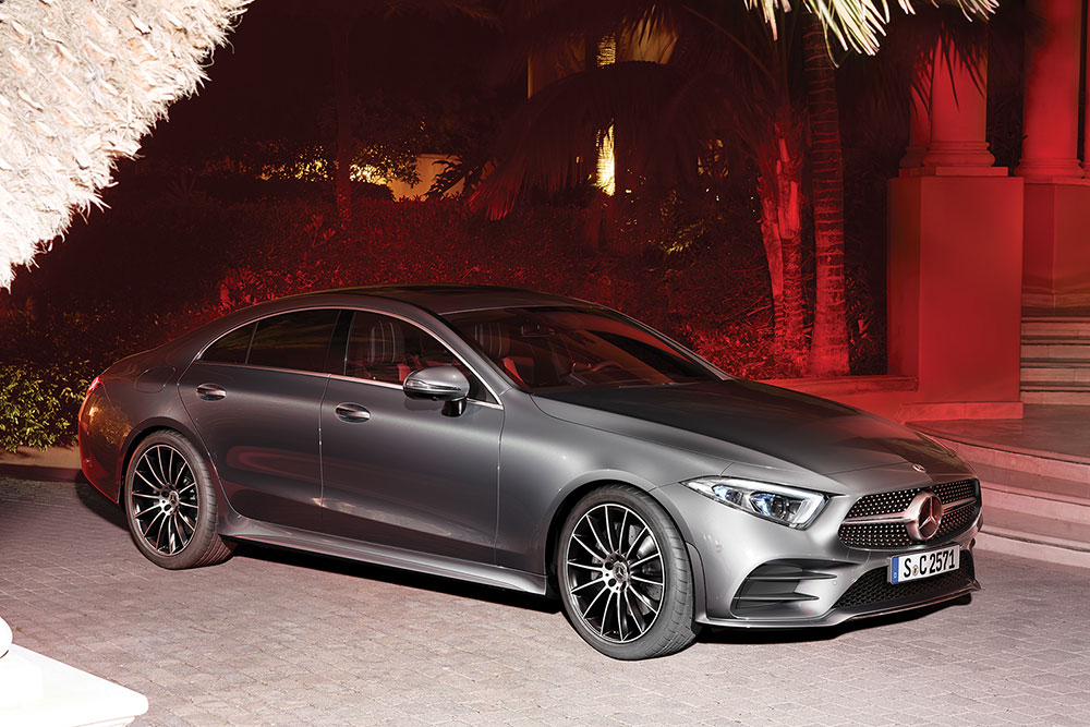Тест-драйв Mercedes-Benz CLS-Class Купе в Fabius