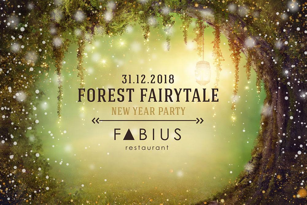 Новорічна ніч у стилі Forest fairytale